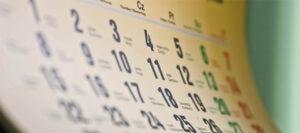 cabecera calendario