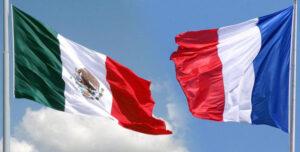 BANDERA-MEXICO-FRANCIA