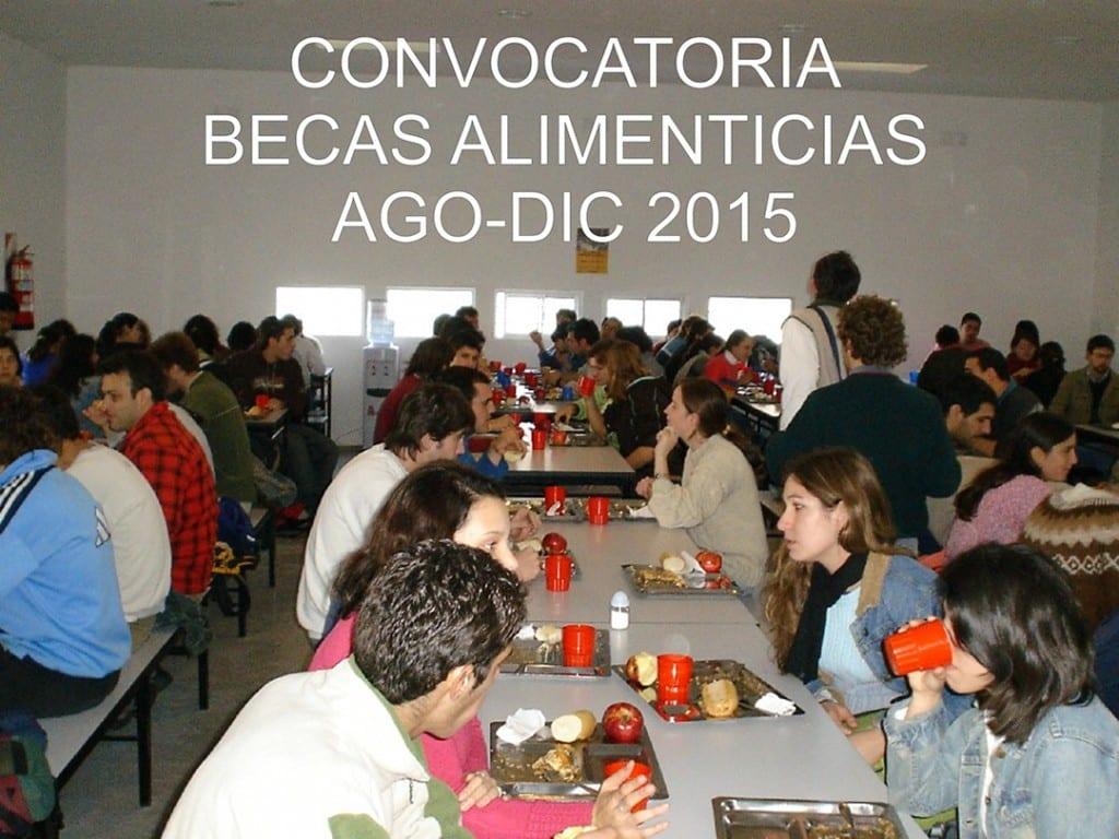 CONVOCATORIA BECAS ALIMENTICIAS OK