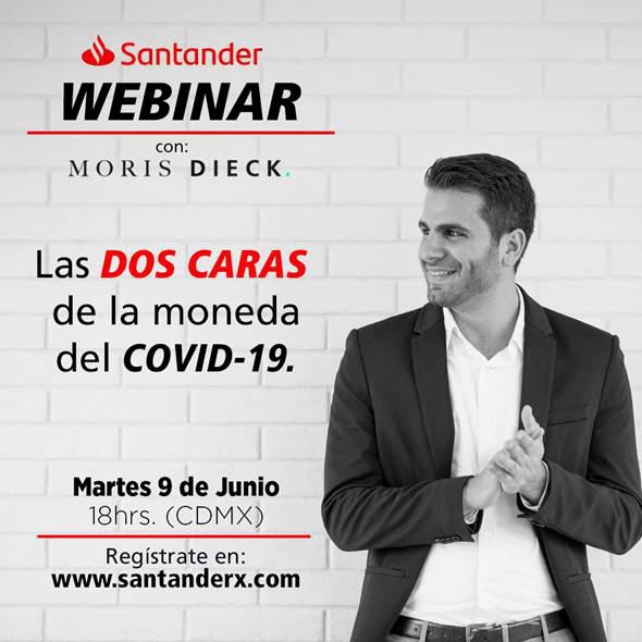 """Participa en elwebinar """"Las dos Caras de la Moneda del COVID-19"""""""